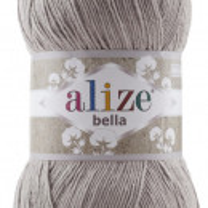 Fir de tricotat sau crosetat - Fir BUMBAC 100% ALIZE BELLA 100 - BEJ 629