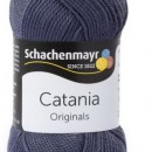 Fir de tricotat sau crosetat - Fir BUMBAC 100% MERCERIZAT CATANIA GRAPHIT 393