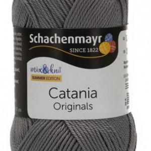 Fir de tricotat sau crosetat - Fir BUMBAC 100% MERCERIZAT CATANIA RAUCHGRAU 435