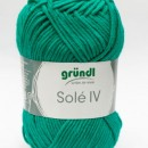 Fir de tricotat sau crosetat - Fir GRUNDL - SOLE - VERDE - 42