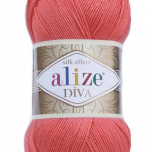 Fir de tricotat sau crosetat - Fir microfibra ALIZE DIVA SOMON 661
