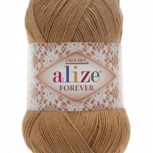 Fir de tricotat sau crosetat - Fir microfibra ALIZE FOREVER BEJ 298