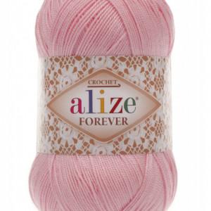 Fir de tricotat sau crosetat - Fir microfibra ALIZE FOREVER ROZ 32