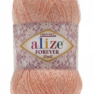 Fir de tricotat sau crosetat - Fir microfibra ALIZE FOREVER SIMLI FREZ 282