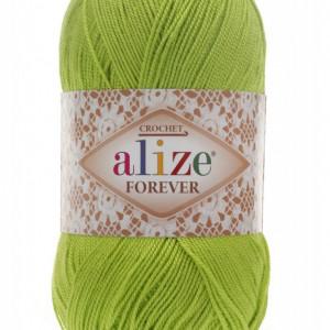 Fir de tricotat sau crosetat - Fir microfibra ALIZE FOREVER VERNIL 612