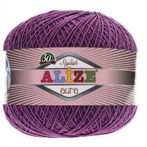 Fir de tricotat sau crosetat - Fire Alize Aura - Mov - 297
