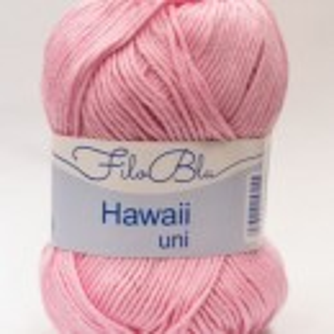 Fir de tricotat sau crosetat - Fire amestec Bumbac 100% GRUNDL HAWAII UNI - ROZ - 02