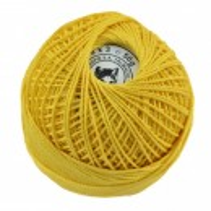 Fir de tricotat sau crosetat - Fire Bumbac 100% ANGELICA ROMANOFIR BOBINA GALBEN 1310