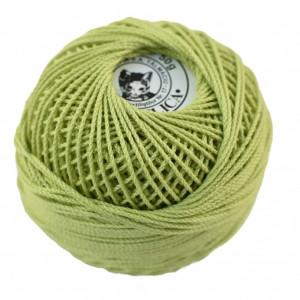 Fir de tricotat sau crosetat - Fire Bumbac 100% ANGELICA ROMANOFIR BOBINA VERNIL 1262