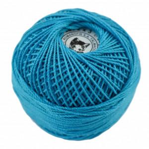 Fir de tricotat sau crosetat - Fire Bumbac 100% ANGELICA ROMANOFIR BOBINA ALBASTRU 94