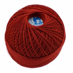 Fir de tricotat sau crosetat - Fire Bumbac 100% MACRAME ROMANOFIR BOBINA ROSU 1333