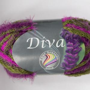 Fir de tricotat sau crosetat - Fire pretricotat esarfa GRUNDL DIVA DEGRADE 10