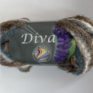 Fir de tricotat sau crosetat - Fire pretricotat esarfa GRUNDL DIVA DEGRADE 03