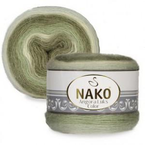 Fir de tricotat sau crosetat - Fire tip mohair acril NAKO ANGORA LUKS COLOR 82361