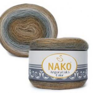 Fir de tricotat sau crosetat - Fire tip mohair acril NAKO ANGORA LUKS COLOR 81907
