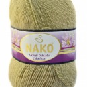 Fir de tricotat sau crosetat - Fire tip mohair acril NAKO MOHAIR DELICATE COLORFLOW DEGRADE 28094