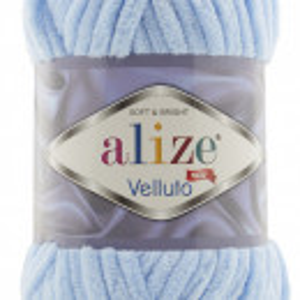 Fir de tricotat sau crosetat - Fire tip mohair din acril ALIZE VELLUTO BLEO 218