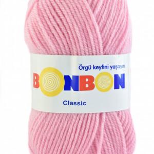 Fir de tricotat sau crosetat - Fire tip mohair din acril BONBON CLASIC 98588