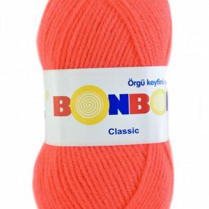 Fir de tricotat sau crosetat - Fire tip mohair din acril BONBON CLASIC 98398