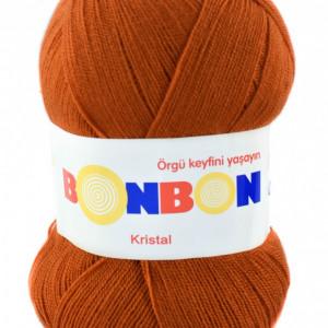 Fir de tricotat sau crosetat - Fire tip mohair din acril BONBON KRISTAL 98871