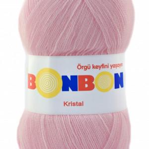 Fir de tricotat sau crosetat - Fire tip mohair din acril BONBON KRISTAL 98877