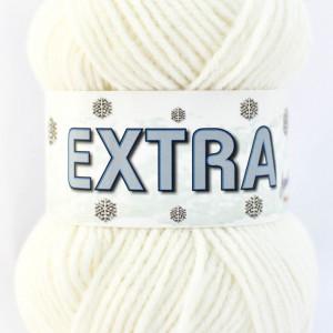 Fir de tricotat sau crosetat - Fire tip mohair din acril CANGURO - EXTRA CREAM - 302