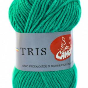 Fir de tricotat sau crosetat - Fire tip mohair din acril CANGURO - TRIS VERDE 336