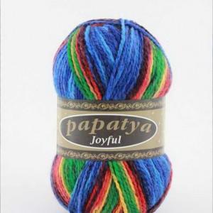 Fir de tricotat sau crosetat - Fire tip mohair din acril Kamgarn Papatya Joyful degrade 11