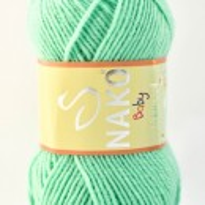 Fir de tricotat sau crosetat - Fire tip mohair din acril Nako Baby MARVEL VERNIL 2867