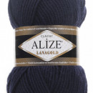 Fir de tricotat sau crosetat - Fire tip mohair din lana 49% si acril 51% Alize Lanagold Bleomaren 58