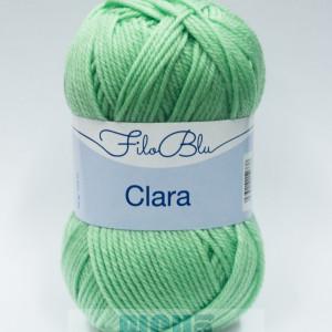 Fir de tricotat sau crosetat - Fire tip mohair din poliester Filo Blu - Clara 07