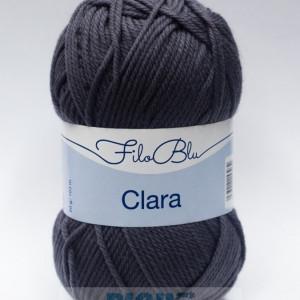 Fir de tricotat sau crosetat - Fire tip mohair din poliester Filo Blu - Clara 17