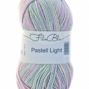 Fir de tricotat sau crosetat - Fire tip mohair din poliester Filo Blu - PASTELL LIGHT 03