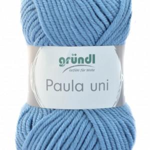 Fir de tricotat sau crosetat - PAULA UNI by GRUNDL ALBASTRU -52