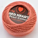 Cotton perle RED HEART cod 010