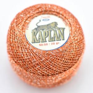 Fir de crosetat polyester + lurex KAPLAN 740