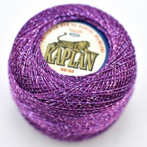 Fir de crosetat polyester + lurex KAPLAN 915
