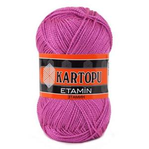 Fir de tricotat,brodat sau crosetat - Fir KARTOPU ETAMIN ROZ 796