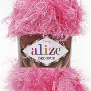 Fir de tricotat sau crosetat - FANCY - ALIZE DECOFUR ROZ 98