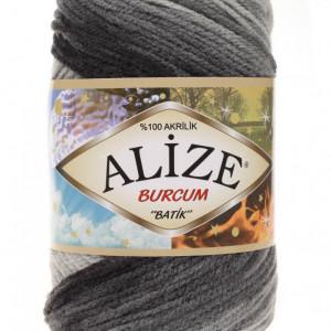 Fir de tricotat sau crosetat - Fir ACRILIC ALIZE BURCUM BATIK DEGRADE 1900