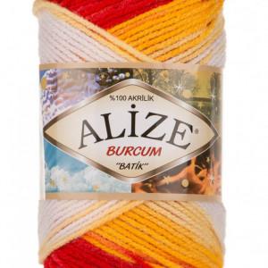 Fir de tricotat sau crosetat - Fir ACRILIC ALIZE BURCUM BATIK DEGRADE 4429