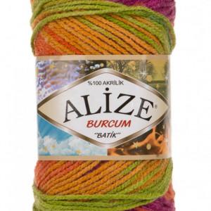 Fir de tricotat sau crosetat - Fir ACRILIC ALIZE BURCUM BATIK DEGRADE 3514