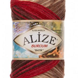 Fir de tricotat sau crosetat - Fir ACRILIC ALIZE BURCUM BATIK DEGRADE 4574