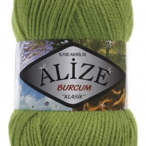 Fir de tricotat sau crosetat - Fir ACRILIC ALIZE BURCUM KLASIK VERDE 210