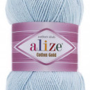 Fir de tricotat sau crosetat - Fir ALIZE COTTON GOLD BLEO 513