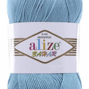 Fir de tricotat sau crosetat - Fir BUMBAC 100% ALIZE BAHAR BLEO 128
