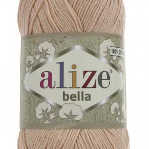 Fir de tricotat sau crosetat - Fir BUMBAC 100% ALIZE BELLA - BEJ 417
