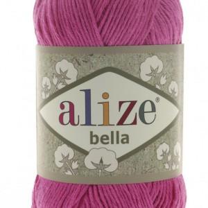 Fir de tricotat sau crosetat - Fir BUMBAC 100% ALIZE BELLA - ROZ 489