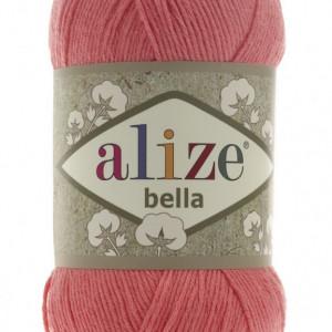 Fir de tricotat sau crosetat - Fir BUMBAC 100% ALIZE BELLA - ROZ 619