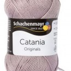 Fir de tricotat sau crosetat - Fir BUMBAC 100% MERCERIZAT CATANIA SCHLAMM 406